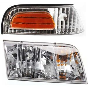 New Auto Light Kit Passenger Right Side Rh Hand Ford Crown Victoria 1998 2011