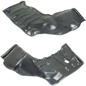 Engine Splash Shield For 88 92 Toyota Corolla Set Of 2 Driver And Passenger Side