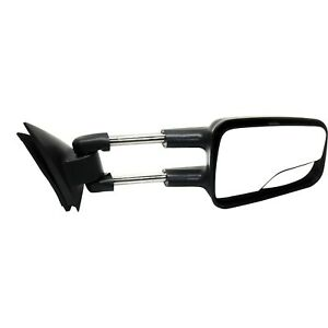 Manual Towing Mirror For 99 06 Chevy Silverado 1500 Right Dual Glass Manual Fold