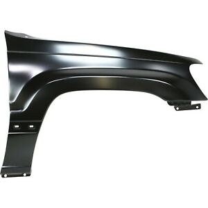 Fender For 1999 2004 Jeep Grand Cherokee Front Rh Primed With Molding Holes Capa