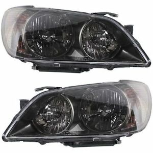 Hid Headlight Set For 2004 2005 Lexus Is300 Left Right W Bulb S Pair