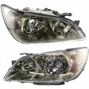 Hid Headlight Set For 2001 2005 Lexus Is300 Left Right W Bulb S Pair
