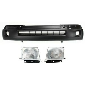 Bumper Cover Kit For 98 00 Tacoma Models With Fog Light Holes Front 2pc