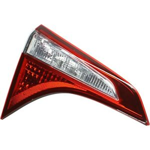 Rear Inner Tail Light Lamp Assembly Driver Side Lh Lr For Toyota Corolla New