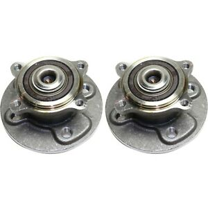 New Set Of 2 Wheel Hubs Rear Driver Passenger Side Lh Rh For Mini Cooper Pair