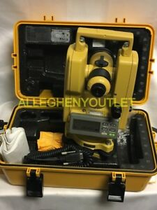 Topcon Dt 102 Electronic Theodolite W Case And Accessories Like New