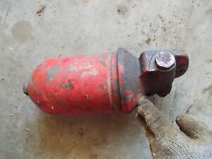 Farmall Ih 400 Diesel Tractor Engine Motor Oil Filter Cannister Holder
