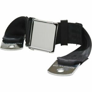 Beams 1800 74 Black Seat Belt Black 2 Point Universal
