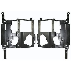 Headlight Bracket Set For 2003 2006 Gmc Sierra 1500 Left Right 2pc