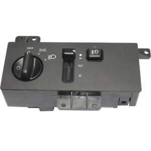 Headlight Switch For 1996 1998 Jeep Grand Cherokee Black Plastic