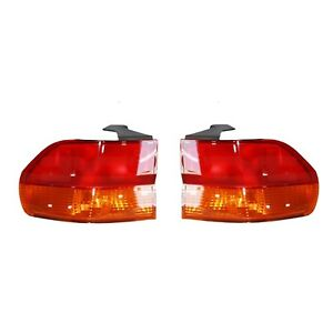 New Pair Of Outer Tail Lights Fit Honda Odyssey 2002 2004 Ho2801158 Ho2800158