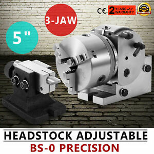Hot Bs 0 Presision 5 Semi Universal Dividing Head 3 jaw Chuck Reliable Milling