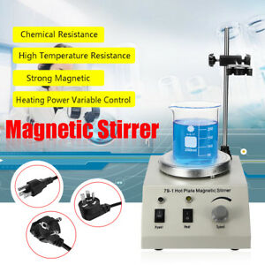 79 1 Hot Plate Magnetic Stirrer Mixer Stirring Laboratory 1000ml Speed Control