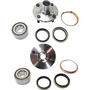 Front Wheel Hub Bearing Pair Set Kit For 93 02 Corolla Prizm
