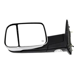 Tow Mirror For 2011 2012 Ram 1500 Driver Side Power Heated Puddle Signal Light