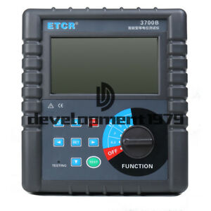 30 0 K Etcr3700 Intelligent Equipotential Tester Is Low Dc Resistance Tester
