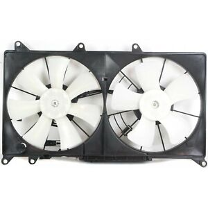 Radiator Cooling Fan For 2001 2005 Lexus Is300 Dual With Coolant Reservoir