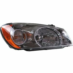 Halogen Headlight For 2004 2005 Kia Spectra Right W Bulb