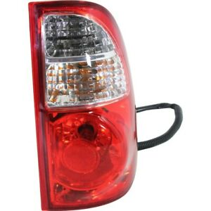 Tail Light For 2005 2006 Toyota Tundra Rh Regular Access Cab Standard Bed Clear