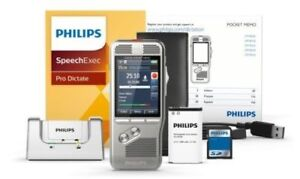 Philips digital pocket memo dpm8100 digital voice recorder without Software