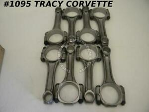 1961 1965 Chevy 409 W Engine Reconditioned 3 8 Connecting Rods 8 61 62 63 64 65
