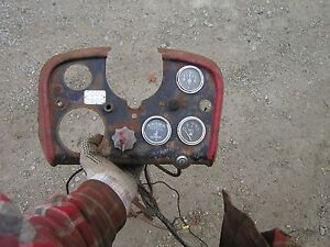 Farmall 560 Lp Propane Tractor Original Ih Ihc Dash Panel Guages