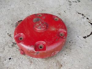 Farmall 560 Tractor L Disc Brake Assembly W Good Outer Cover Housing To Tractor