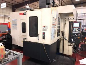 Used Mazak Variaxis 500 5x Cnc Vertical Mill 5 axis 80 Tools Pallet Changer Tsc