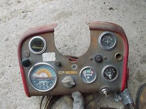 Farmall 560 Diesel Tractor Ih Dash Panel Gauges Tachometer Amp Oil Wire Harness