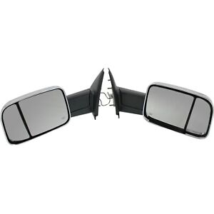 Tow Mirror Set For 2002 2009 Dodge Ram 1500 Left Right Power Heat Signal Light