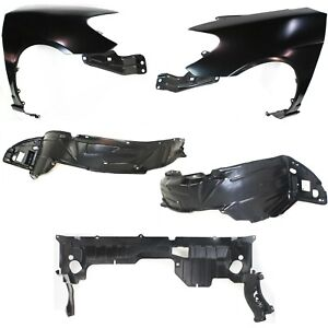 Fender Kit For 2004 2005 Honda Civic Front Left And Right 5pc
