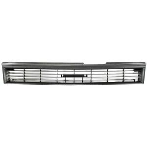Grille For 88 92 Toyota Corolla Gray Plastic