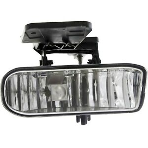 Fog Light For 1999 2002 Gmc Sierra 1500 Sierra 2500 Front Right Side With Bulb