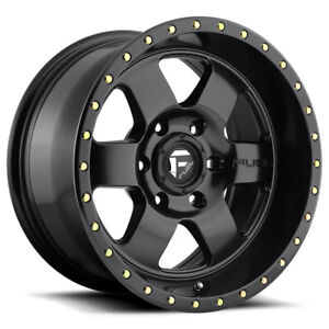 4 20 Inch Fuel D618 Podium 20x9 5x139 7 5x5 5 20mm Matte Black Wheels Rims