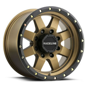 4 17 Inch Raceline 935bz Defender 17x9 8x6 5 12mm Bronze black Wheels Rims