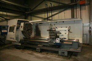 Used Weiler E120 Cnc Lathe 2007 43 Chuck Tailstock 4 Toolpost Steady Rest Chip