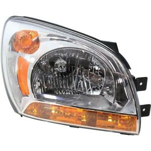 Headlight For 2005 2006 2007 2008 2009 2010 Kia Sportage Right With Bulb Type 1