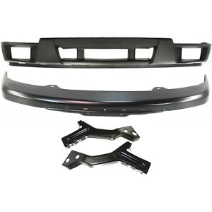 New Bumper Cover Facial Kit Front For Chevy Gm1000722 Gm1002825 Gm1061103