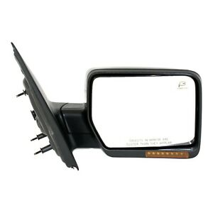 Mirror For 2007 2008 Ford F 150 Power Folding With Memory Paintable Heated Right