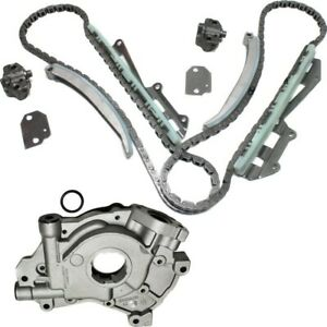 Timing Chain Kit For 1997 2002 Ford F 150 2002 Explorer 4 6l Sohc W Oil Pump