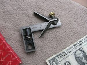 Starrett 4 Combination Square Rule Machinist Toolmaker Tool
