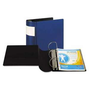 Samsill Dxl Heavy duty Locking D ring Binder With Label Holder 050362176028