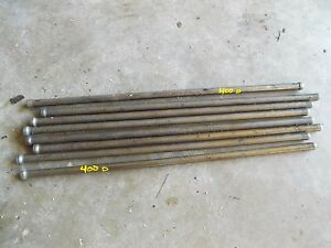 8 Farmall Ih 400d 400 Diesel Tractor Original Ih Engine Motor Push Rod Rods