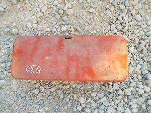 Case 530 Tractor Tool Box With Lid Cover