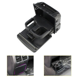 Rear Center Console Armrest Cup Holder For Vw Jetta Mk5 Golf Mk6 Gti Eos Rabbit