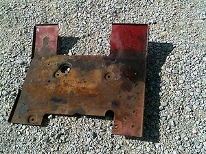 Farmall 656 Rowcrop Tractor Ih Ihc Open Station Fender Tractor Foot Platform