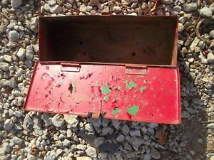 International Farmall Ih 504 Utility Tractor Tool Box