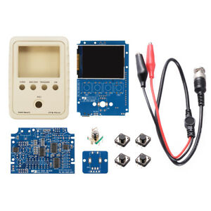 Pocket size 2 4 Tft Digital Oscilloscope 1msps Diy Kit Housing Bnc Probe Te673