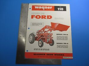 Wagner Model Ph65 Quick detach 240 340 And 460 Tractors 180 Degree Swing M4735