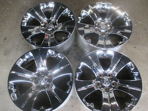 2016 2017 Dodge Ram 1500 Factory 20 Chrome Wheels Rims Oem 05179297aa 20x9